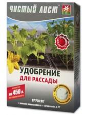 Чистый лист кристаллическое удобрение для рассады, 300 г