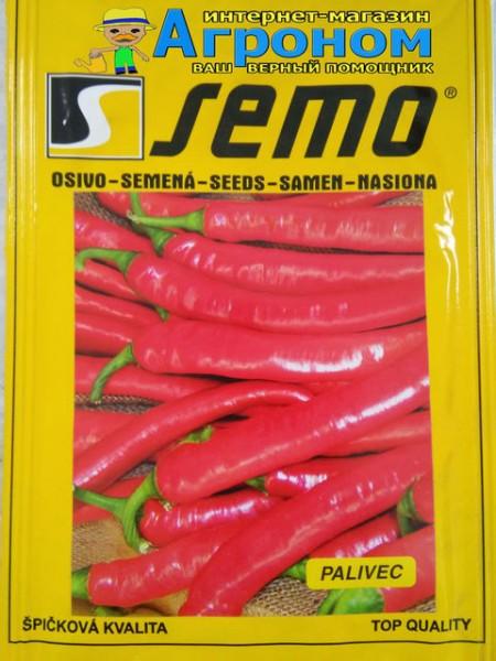 Паливец - перец острый 1000 семян, Semo Чехия