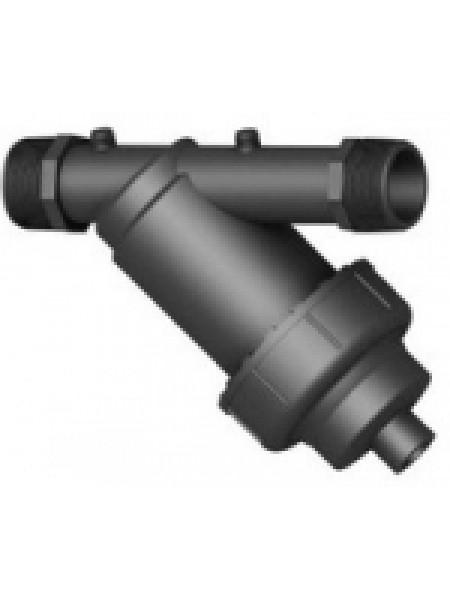 Дисковый гравийный фильтр для полива, пластик 1,5', Irritec (Ирритек) Италия