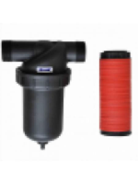 Дисковый гравийный фильтр для полива, пластик 1'