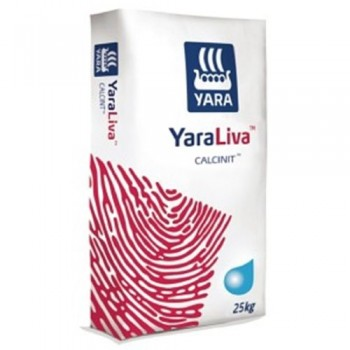 Кальциевая селитра - водорастворимый нитрат кальция, 25 кг, Yara Норвегия